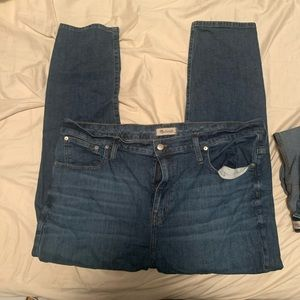 High rise slim boy Jeans Madewell